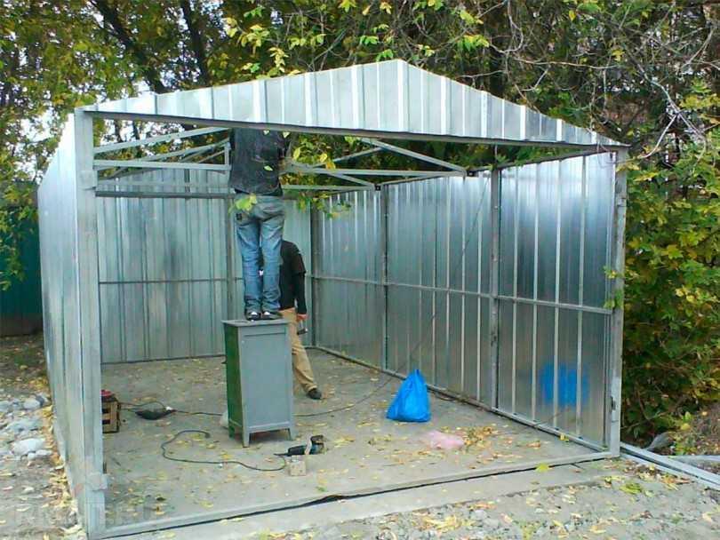 Как построить гараж своими руками: строим дешево и быстро красивый и функциональный гараж (85 фото и видео)