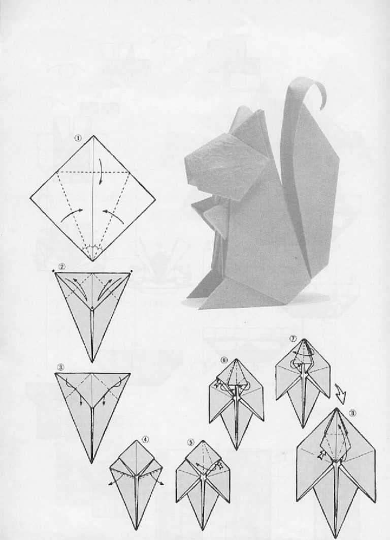 оригами из бумаги картинки схемы для начинающих началова ушла жизни