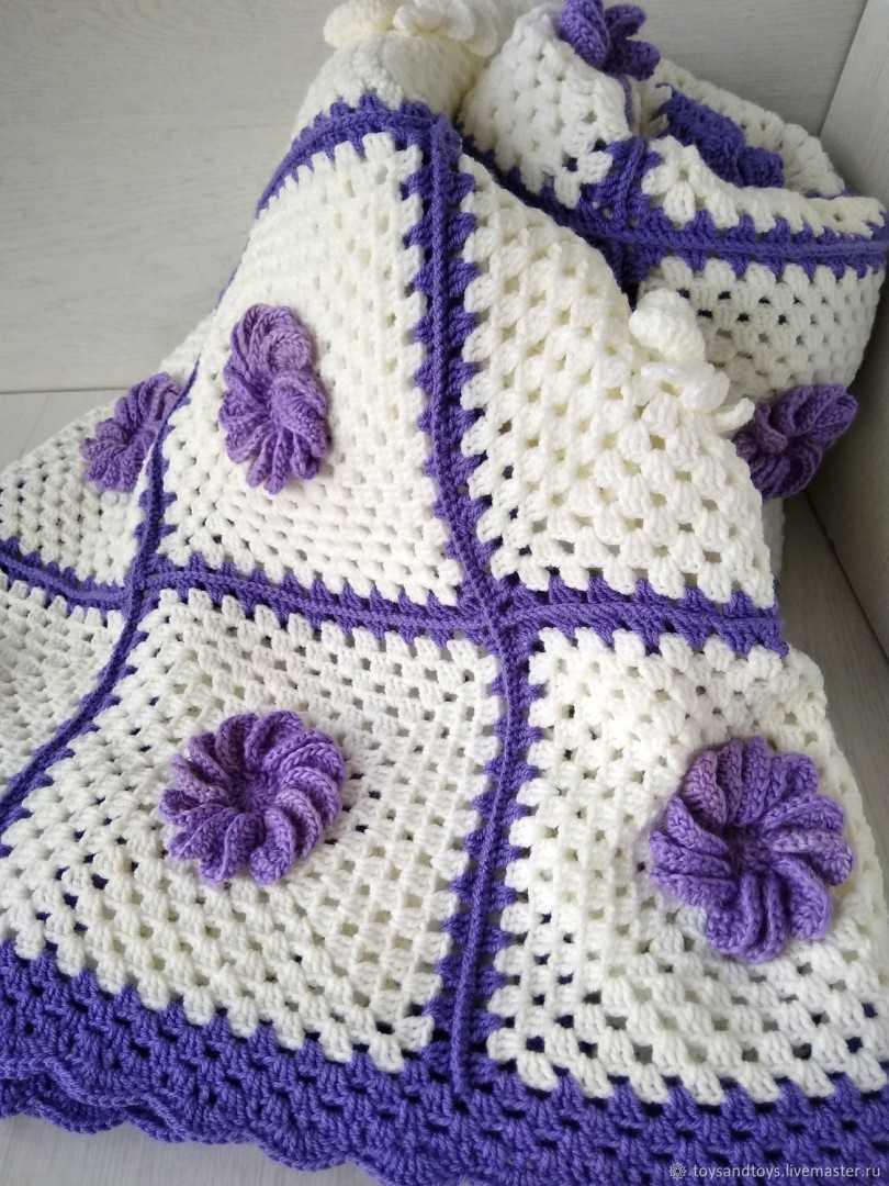 Плед из старых свитеров своими руками