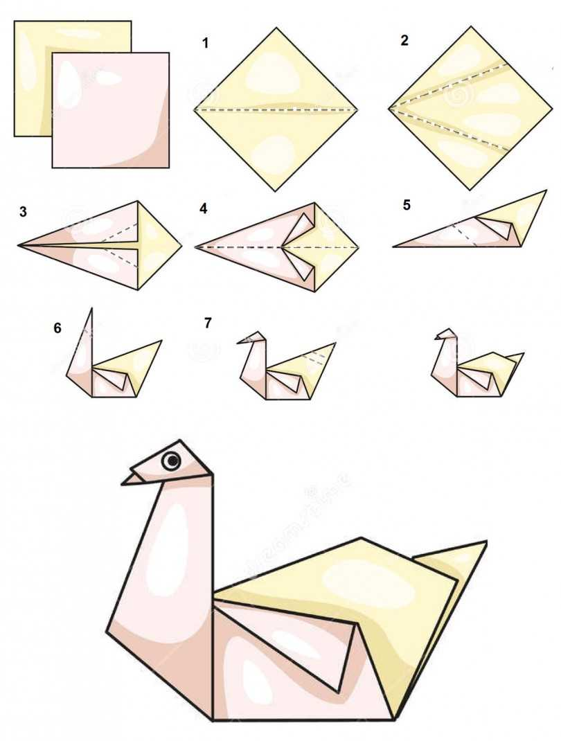 японии инструкции в картинках поделок оригами временем информации накапливается