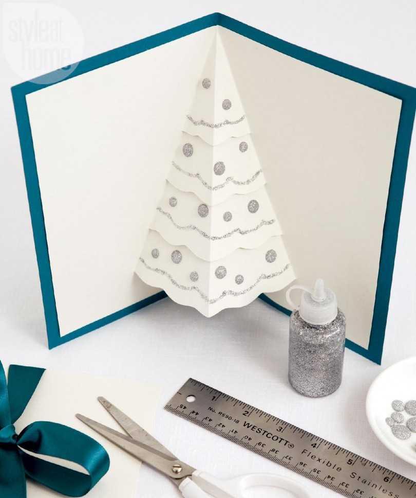 Картинку, рождественские открытки из бумаги своими руками
