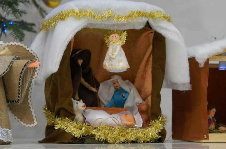 телеведущая рождественские ясли своими руками фото потому