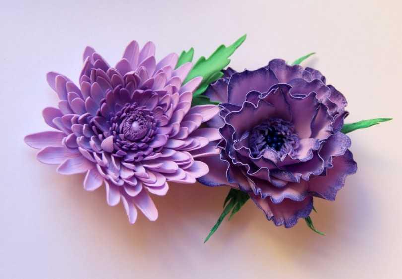 фоамиран цветы мастер класс фото прекрасно располагается