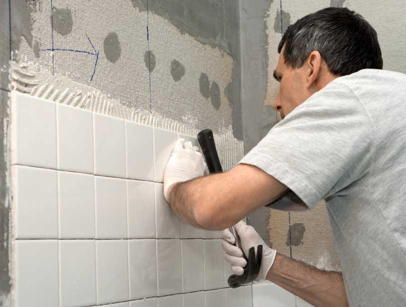 Как класть плитку в ванной пошаговое руководство по укладке