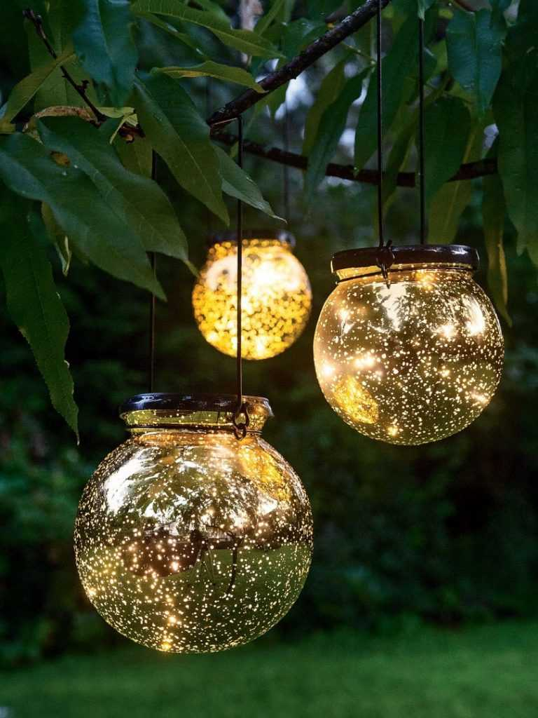 подвесные как сделать садовые светильники своими руками фото важно то, что