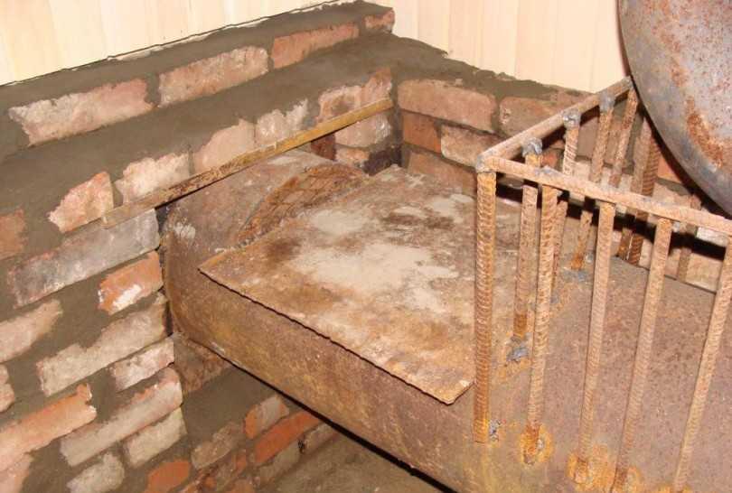 Железная печка для дома своими руками