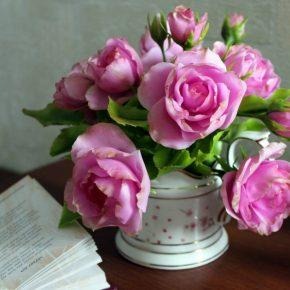 Как сделать цветы из холодного фарфора: шикарная флористика и поделки к Новому Году своими руками пошагово