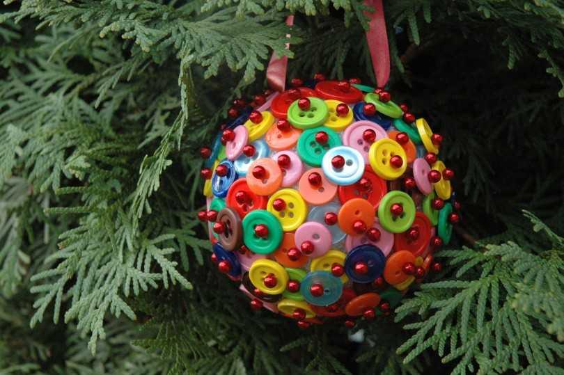 Декор новогодних шаров