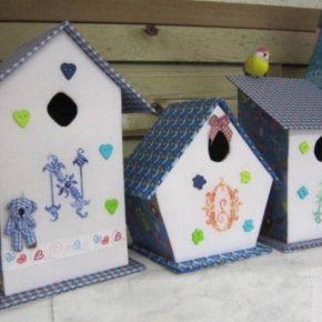 Как правильно сделать скворечник своими руками из подручных материалов: создаем оригинальный домик для птиц по эскизам